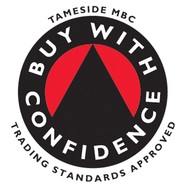This is an image of the Trading Standards Buy With Confidence scheme, of which Abate Pest Control Services are members.