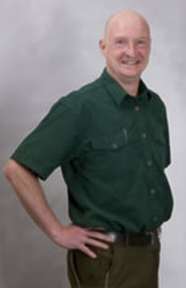 This is an image of Trevor Devlin, the owner of Abate Pest Control Services.
